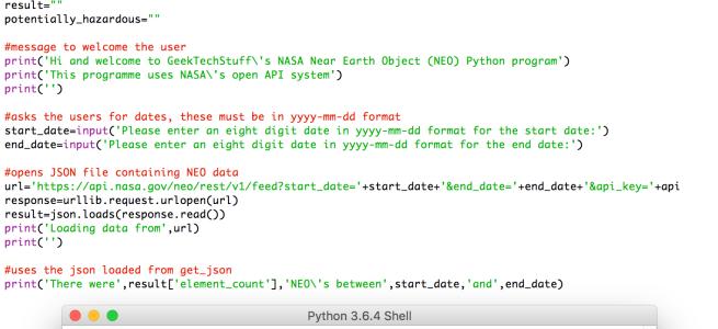 Nasa Neo V1 Python Geek Tech Stuff
