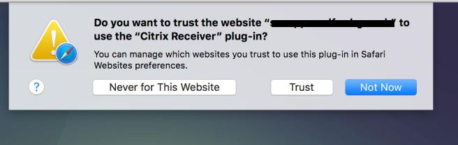 Installing Citrix Receiver (Mac) – Geek Tech Stuff