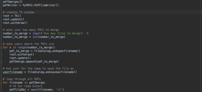 PDF Merge – With GUI V2 (Python) – Geek Tech Stuff