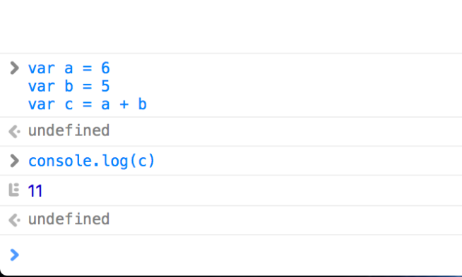 javascript var console log