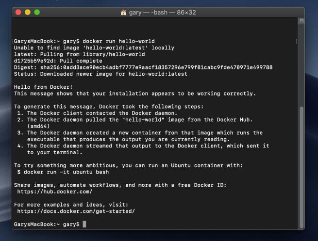 Installing Docker (Mac) – Geek Tech Stuff