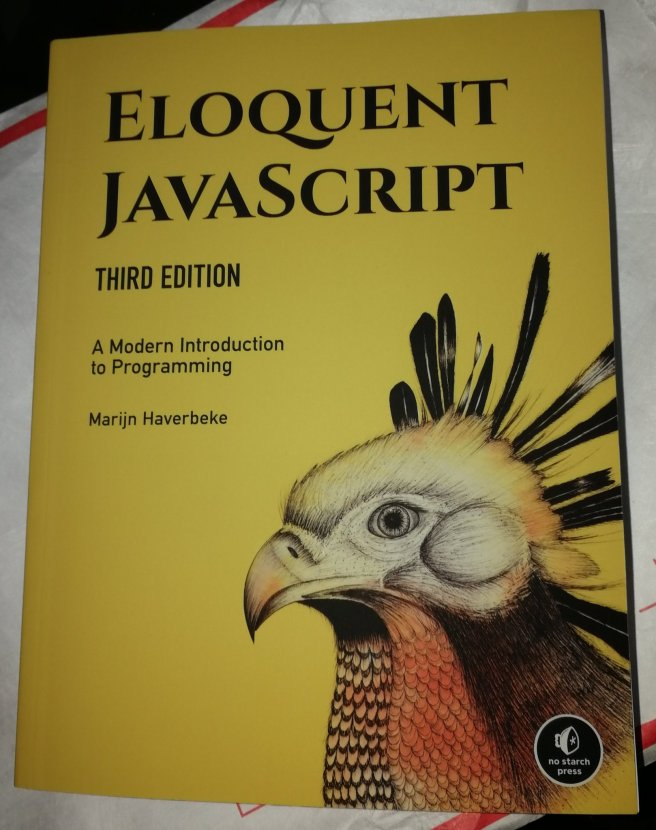 Eloquent JavaScript (Marijn Haverbeke) from No Starch Press