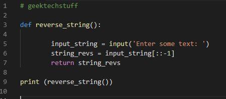 python_reverse_string_geektechstuff