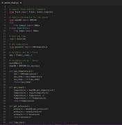 Flask / Python code