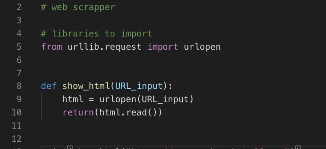 urllib.request in Python