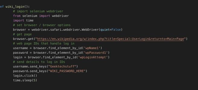 Web Scraping: Introducing Selenium (Python) – Geek Tech Stuff