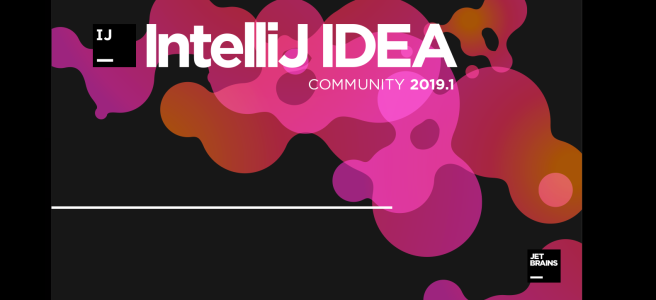 IntelliJ IDEA splash screen