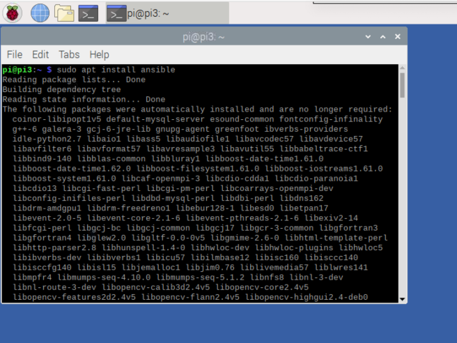 Raspberry Pi Installing Ansible