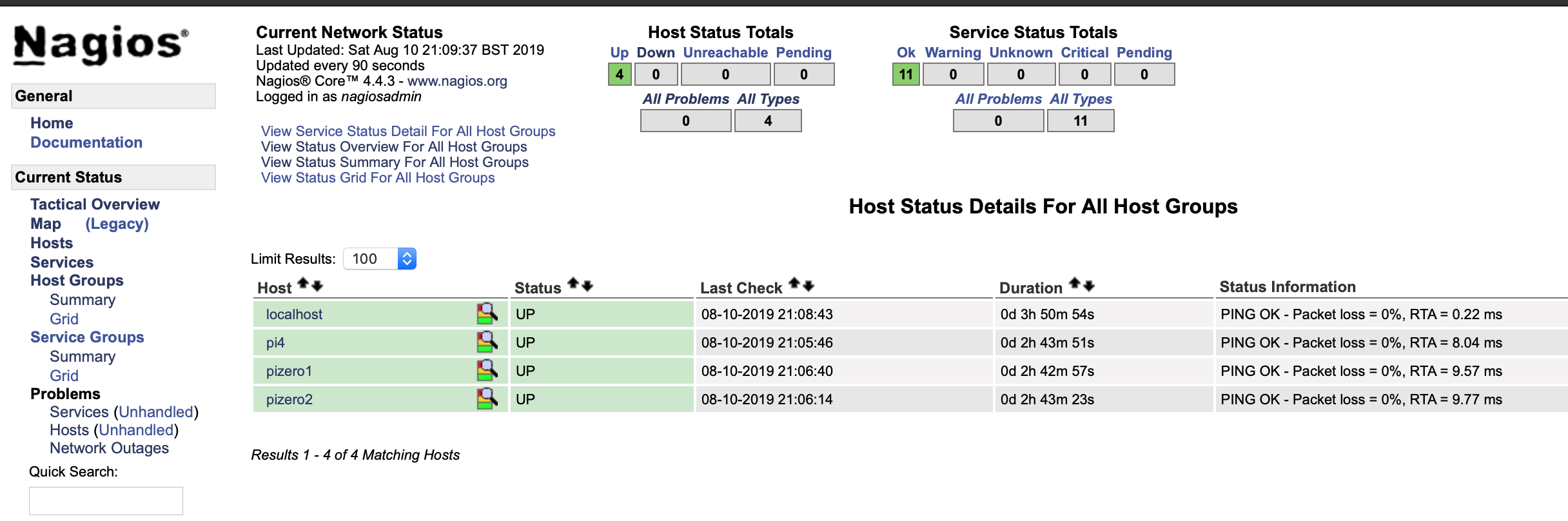 Monitoring Multiple Pis With Nagios (Raspberry Pi)