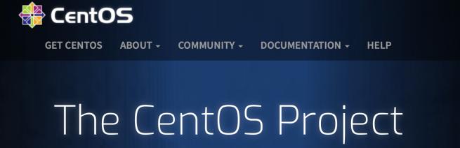 CentOS Webpage