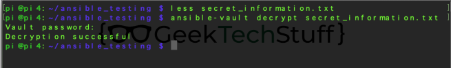 ansible-vault decrypt secret_information.txt