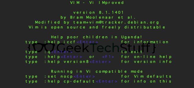 Vi and VIM
