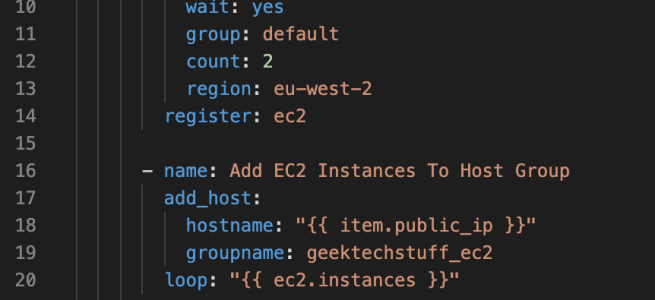 An Ansible playbook to create multiple AWS EC2 instances